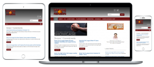 Tennessee Prep Hoops responsive website