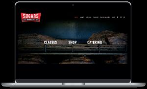 Sugars Barbecue website