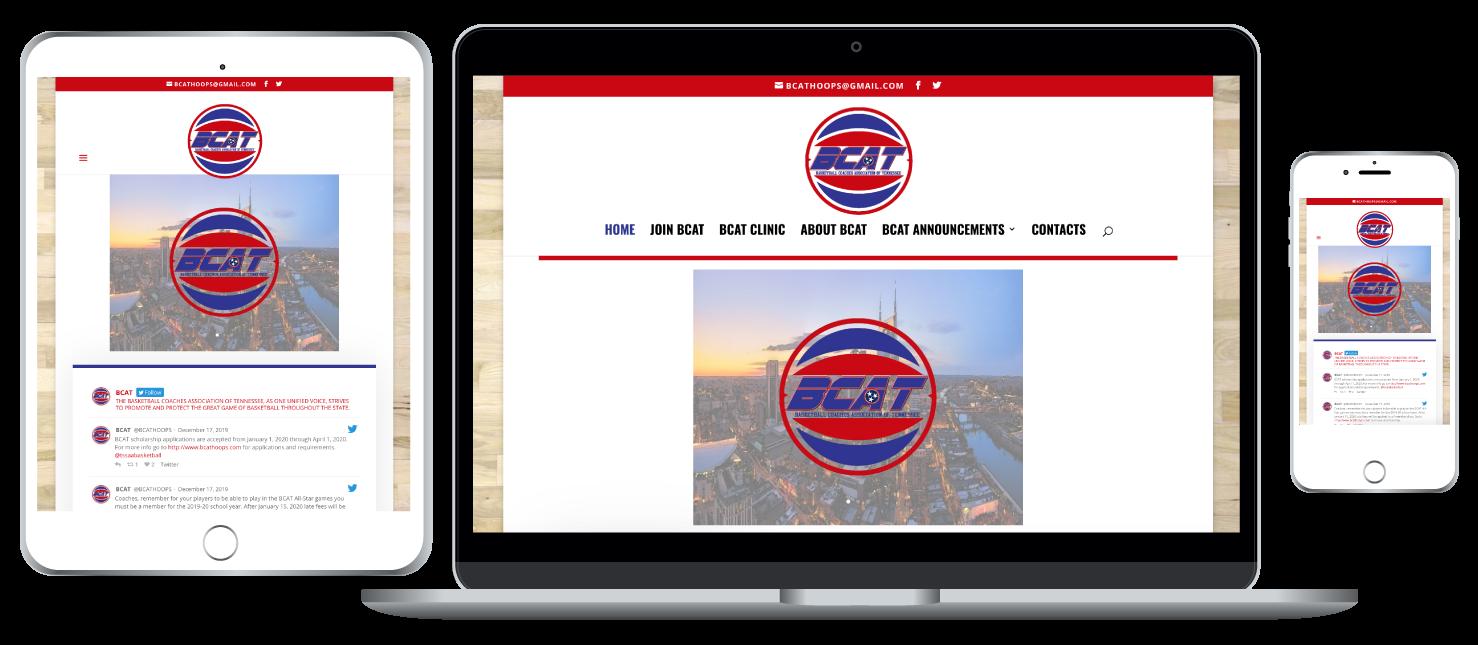 BCAT responsive website