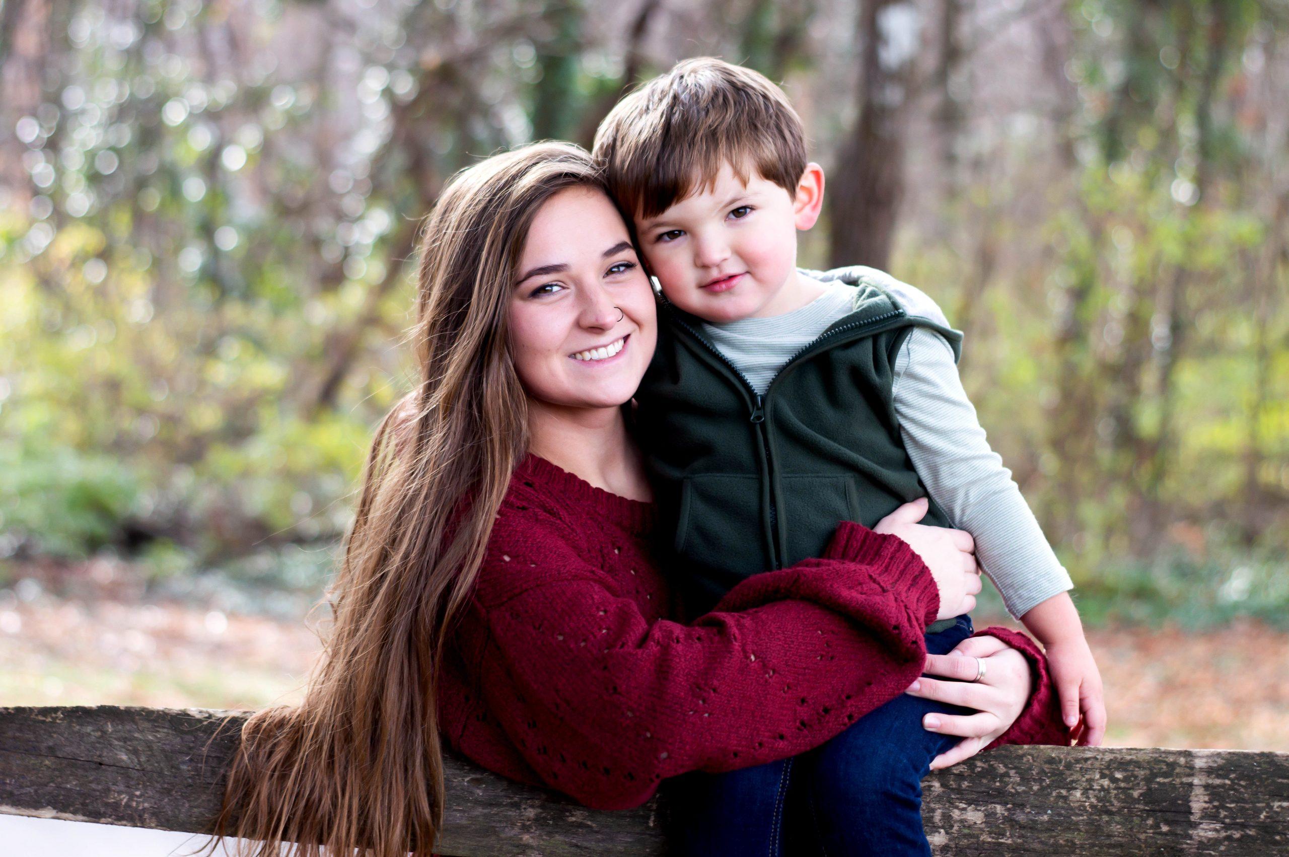 Momma Bear & Little Man