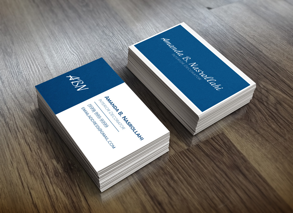 ABN Business Card Mockup