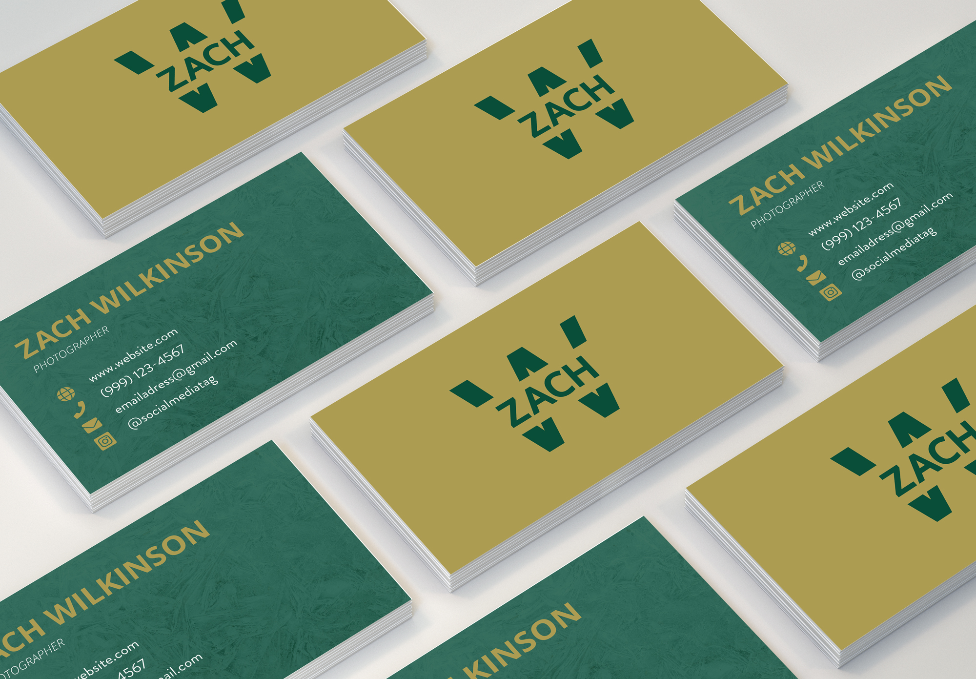 Zach Wilkinson business cards
